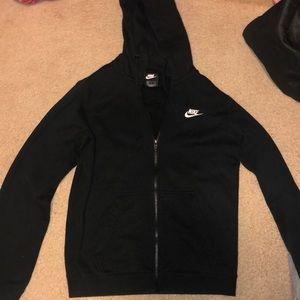 Nike Full Zip Hoodie (fleece lined)